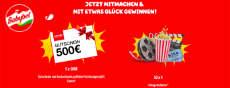 Gewinnspiel Babybel: 5 x 500 € Foto-Gutscheine sowie 50 x 4 Kinogutscheine