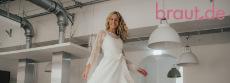 braut.de: ein Hochzeitsoutfit von Dora von Bredenhaidt