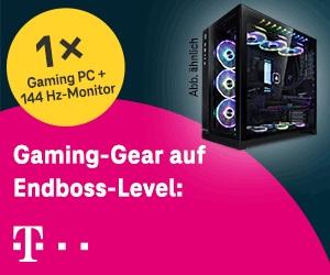 Deutsche Telekom: Gaming PC von MIFCOM im Wert von über 5.000 €