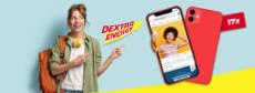 Dextro Energy: eines von 17 iPhone 12 gewinnen