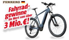 Ferrero: Lucky Bike Fahrradgutscheine im Wert von über 3 Mio. €