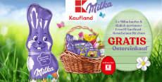 Milka & Kaufland: täglich ein 200 € Einkaufsgutschein
