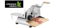 Gewinnspiel Klassik Radio: 5 x ein manueller Allesschneider wird verlost!