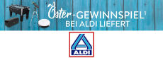 Gewinnspiel ALDI Nord: Massagesessel, Saugroboter, Kickertisch und vieles mehr