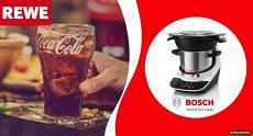 Gewinnspiel REWE: Gewinne mit Coca-Cola einen von 22 Bosch Cookit
