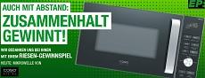 Gewinnspiel ElectronicPartner- eine Kombi-Mikrowelle