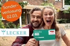 Gewinnspiel LECKER: 4 x Glücks-Lose von Aktion Mensch i. W. v. rund 300 € werden verlost!