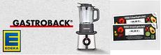 Gewinnspiel EDEKA: ein Gastroback Cook & Mix Plus oder 10 x 50 € Gutscheine