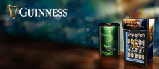 Gewinnspiel Guinness: 3 x ein gefüllter Guinness-Kühlschrank