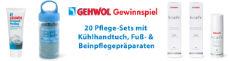 Gewinnspiel GEHWOL: 20 x ein 5-teiliges Fußpflegeset inkl. Kühlhandtuch