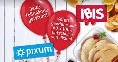 IBIS: 10€ Sofortgewinn kassieren & 60 x je einen 100€ Pixum Gutschein zu gewinnen!