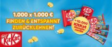 Nestlé & KitKat: Bargeldpreise im Gesamtwert von 1 Million €
