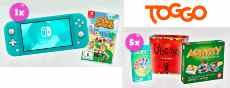 Gewinnspiel TOGGO: eine Nintendo Switch oder 5 x Spielepakete