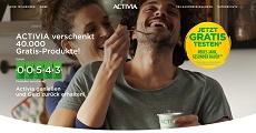 ACTIVIA Yoghurt gratis testen