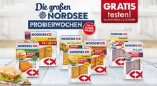 NORDSEE Probierwochen: diverse Fischprodukte gratis testen