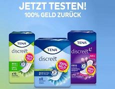 TENA Discreet gratis testen