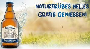Fürstenberg Naturtrübes Helles gratis testen