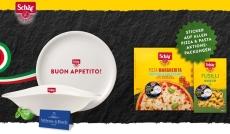 Schär: gratis Pizzateller oder Pastaschale