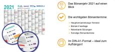 boerse.de: Kostenloser Wandkalender 2021