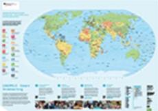 Bundesregierung: große Weltkarte kostenlos bestellen