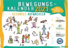Deutsche Sportjugend: Bewegungskalender 2021 kostenlos anfordern