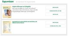 Espumisan: Ratgeber & Poster gratis bestellen