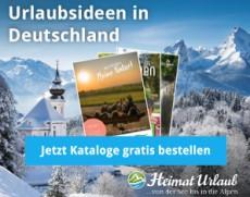 Heimaturlaub: mit gratis Reise-Katalogen den nächsten Urlaub planen