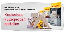 Josera - kostenlose Katzenfutterprobe