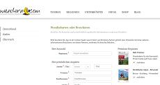 Kostenlose Wanderkarten von wandern.com