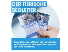 """PeTA: gratis """"Der tierische Begleiter"""" mit wertvollen Infos"""