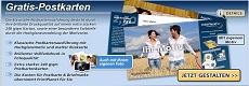 Printplanet: gratis Postkarte verschicken