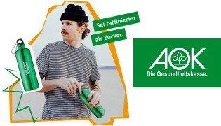AOK: gratis Trinkflasche