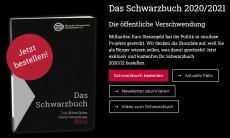 Schwarzbuch zur Steuerverschwendung 2020/2021 kostenlos bestellen