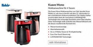 ALTERNATE: Fakir Kaave Mono Mokkamaschine - 36 Tester gesucht