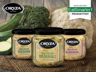 EatSmarter: 25 Tester für Bio-Pestos von ORYZA gesucht