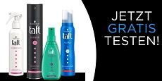 Schwarzkopf: 1000 Tester für Haarpflege-Sets von Taft gesucht