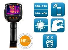 testo: Wärmebildkamera für Instandhaltung & Gebäudethermografie