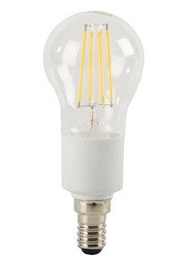 ELV 4,5-W-Filament-LED-Tropfenlampe E14, warmweiß, dimmbar